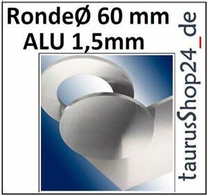 ALU Ronde Ø60x0,8mm 0Loch 2058 Alu Scheibe AR60//0//0,8 mm taurusShop24/_de