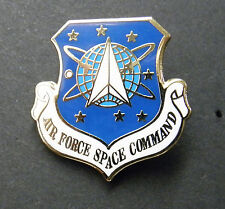 USAF Space Command Air Force Cap Hat Lapel Pin Badge 1 inch