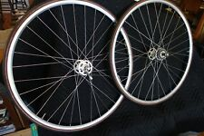 Campagnolo Record Track Wheelset High Flange Continental Fixed gear Campy  *RARE