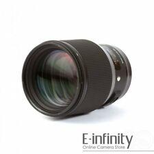 NEW Sigma 85mm f/1.4 DG HSM Art Lens for Canon EF