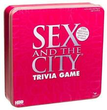 SEALED SEX IN THE CITY TRIVIA GAME IN PINK TIN