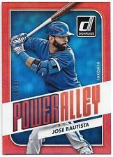 2016 Donruss JOSE BAUTISTA Power Alley Red Insert /99 Toronto Blue Jays #PA10