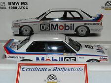 Biante 1/18 BMW M3 1988 Australian Touring Car Championship. Peter Brock MiB