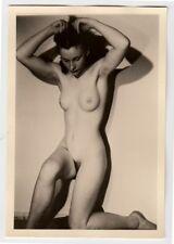 #615 RÖSSLER AKTFOTO / NUDE WOMAN STUDY * Vintage 1950s Studio Photo - no PC !
