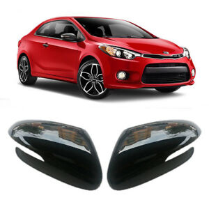 LED Side Mirror Cover 2p DRR Red For 2014 2015 Kia Forte Koup K3 koup