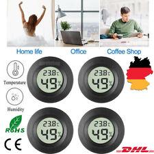 4 LCD Digital Raumthermometer Mit Luftfeuchtigkeitsmesser Hygrometer Temperatur