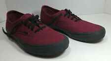Van's Off The Wall Ultra Cush Pro US Men's Size 12 Burgundy/Black SkateboardShoe