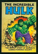 Incredible Hulk ~ Secret Story Of Marvel's Gamma-Powered Goliath Marvel 1981 C2