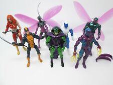 "Marvel Legends Lot King Cobra Constrictor Beetle Thundra Eel Blizzard  6"""