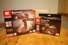 💖 Einhell® TE-CD 18 Li-i BL Brushless Combi Drill + 3.0 Ah X-CHANGE Starter Kit