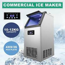 Built In Portable 36 Cube Auto Commercial Ice Maker Restaurant Bar 100lb24h Sw