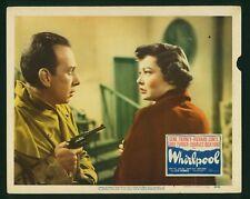 Whirlpool 1950 original 11x14 lobby card Gene Tierney Jose Ferrer