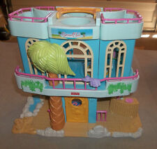 "14"" Fisher Price Sweet Street Tropical Beach House - Folding Playset"
