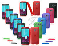 For Vodafone Smart Speed 6 New Gel Silicone Phone Case Cover + Screen Protector