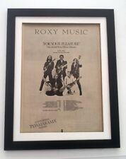 ROXY MUSIC Pyjamarama Tour 1973 *ORIGINAL *POSTER *AD *FRAMED* Advert