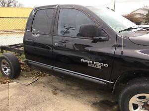 02-03 Dodge Ram Truck 1500 Quad Cab Passenger Front Power Electric DOOR Black