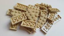 Lego Tan Plate 2x4, Part 3020, Element 4114309, Qty:25 - New