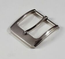 """New man women(#T7) 1 1/2""""(40mm) high quality pin buckle brush nickel color"""