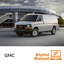 GMC Van - Service and Repair Manual 30 Day Online Access