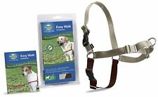PetSafe Dog Nylon EASY WALK HARNESS Reduce Pulling Large Fawn and Brown