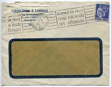 LETTRE PUBLICITAIRE LABORATOIRES J LARROCHE 1938 TIMBRE TYPE PAIX N° 365 JUIN