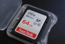 Ultra High Speed - 64GB 64 GB SDXC SD XC CLASS 10 for Nikon D3200 Canon EOS DSLR