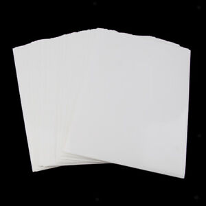 100 Sheets of Self Adhesive Sticker Printer Papers Label Personalization