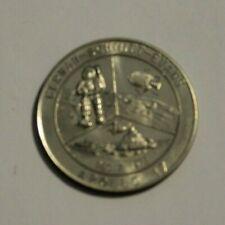 1972 Apollo 17 Moon Landing Coin Medal Cernan-Schmitt-Evans