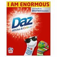 Daz Regular Washing Laundry Powder Cleaning Whitening Detergent, 4.2kg 65 Washes