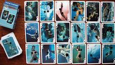 "№173! Playing cards ""Underwater extravaganza"". Nude, girls under water."