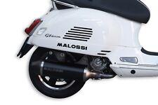 Rennauspuff MALOSSI RX, Black Edition  für Vespa GTS/GTS Super/GTV/GT 60 125-300