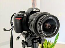 Nikon D D3100 14.2MP Digital SLR Camera - Black with accessories
