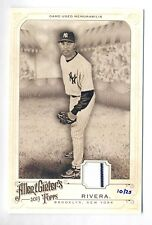 MARIANO RIVERA 2013 TOPPS ALLEN & GINTER JUMBO BOX TOPPER JERSEY #10/25 YANKEES