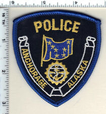 c7a9351b22743 Anchorage Police (Alaska) Cap Hat Patch - New from 1987