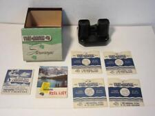 Vintage Sawyers View-Master Steroscope with 4 Disc, Bakelite View-Master