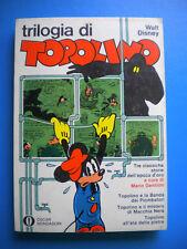 § Disney - TRILOGIA DI TOPOLINO !! OSCAR MONDADORI 356 - PRIMA Edizione 1971 !!