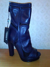 VERSUS VERSACE STIVALETTI DONNA NUOVI size 40 WOMAN ANKLE BOOTS - BOTINES MUJER