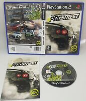 Need For Speed ProStreet - Sony PlayStation 2, PS2 Complete With Manual- VGC