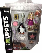 MUPPET SHOW Actionfiguren (Muppets Select) Wave 3: MISS PIGGY, FOO-FOO & PENGUIN