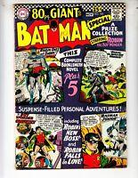 Batman 185 VG+ (4.5) 9/66 Eighty Page Giant G-27!