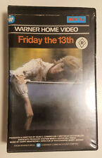 Friday The 13th (1980 Slasher Classic) RARE original Aussie rental VHS on Warner