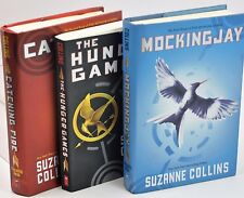 Complete Set HUNGER GAMES Trilogy COLLINS Catching Fire Mockingjay