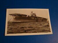 USS YORKTOWN  REAL PHOTO POSTCARD UNPOSTED