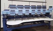 6 Head Happy Industrial Embroidery Machine