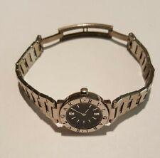 BULGARI (BVLGARI) Black Quartz Ladies Watch, Swiss Made, Stainless Steel