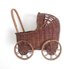 Small Wicker Baby Carriage basket