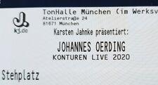 Tickets Johannes Oerding München 22.04.20 Stehplätze Eintrittskarten Karten