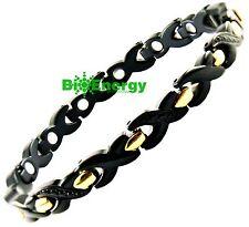 Magnet TITANIUM Armband Energy Power Bracelet Health Bio wristband cuff Scalar