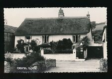 Devon CROYDE Village scene Fuel Pump c1950/60s? RP PPC by Chapman