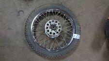 """1975 yamaha dt125 175 enduro Y458~ rear wheel rim w 45t sprocket 18"""""""